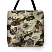 Abstraction 2325 Tote Bag