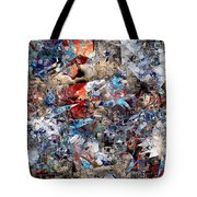 Abstraction 2400 Tote Bag