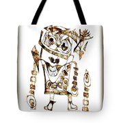 Abstraction 2421 Tote Bag