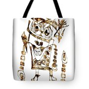 Abstraction 2423 Tote Bag