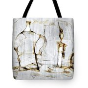 Abstraction 2426 Tote Bag