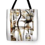 Abstraction 2430 Tote Bag