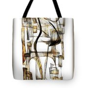 Abstraction 2431 Tote Bag