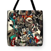 Abstraction 2501 Tote Bag
