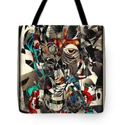 Abstraction 2502 Tote Bag
