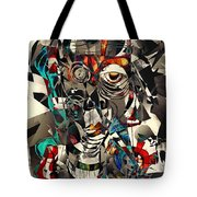 Abstraction 2503 Tote Bag