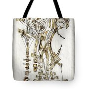 Abstraction 2562 Tote Bag