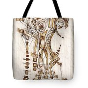 Abstraction 2564 Tote Bag