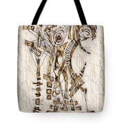 Abstraction 2566 Tote Bag