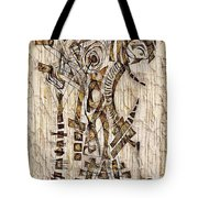Abstraction 2568 Tote Bag
