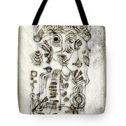 Abstraction 2569 Tote Bag