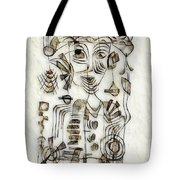 Abstraction 2570 Tote Bag
