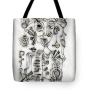 Abstraction 2573 Tote Bag