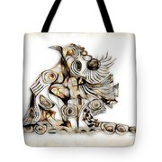 Abstraction 2739 Tote Bag