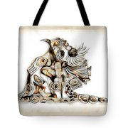 Abstraction 2740 Tote Bag