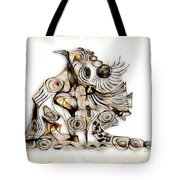 Abstraction 2741 Tote Bag