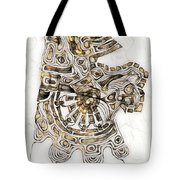 Abstraction 2792 Tote Bag