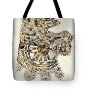 Abstraction 2798 Tote Bag