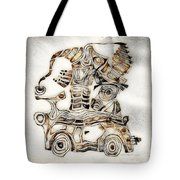 Abstraction 2807 Tote Bag