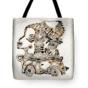Abstraction 2808 Tote Bag