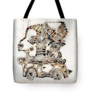 Abstraction 2810 Tote Bag