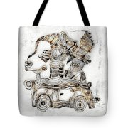 Abstraction 2812 Tote Bag