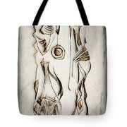 Abstraction 2819 Tote Bag