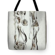 Abstraction 2824 Tote Bag