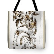 Abstraction 2833 Tote Bag