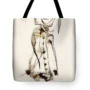 Abstraction 2836 Tote Bag