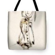 Abstraction 2837 Tote Bag
