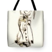 Abstraction 2840 Tote Bag