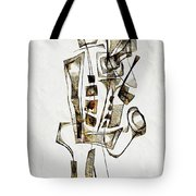 Abstraction 2842 Tote Bag