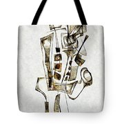 Abstraction 2843 Tote Bag