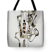 Abstraction 2845 Tote Bag