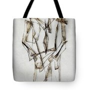Abstraction 2849 Tote Bag