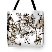 Abstraction 2865 Tote Bag