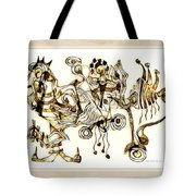 Abstraction 2872 Tote Bag
