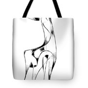 Abstraction 2917 Tote Bag