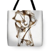 Abstraction 2924 Tote Bag