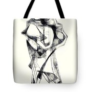 Abstraction 2925 Tote Bag