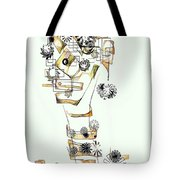 Abstraction 2988 Tote Bag