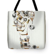 Abstraction 2990 Tote Bag