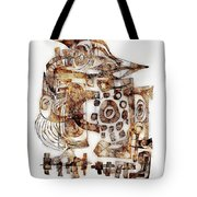 Abstraction 3052 Tote Bag