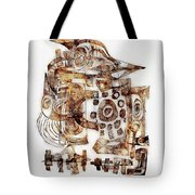 Abstraction 3053 Tote Bag