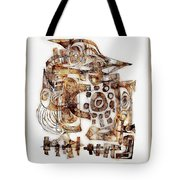 Abstraction 3055 Tote Bag