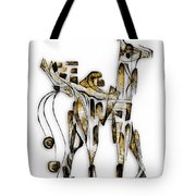 Abstraction 3089 Tote Bag