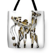 Abstraction 3090 Tote Bag