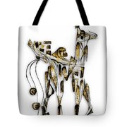Abstraction 3093 Tote Bag