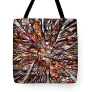 Abstraction 3098 Tote Bag